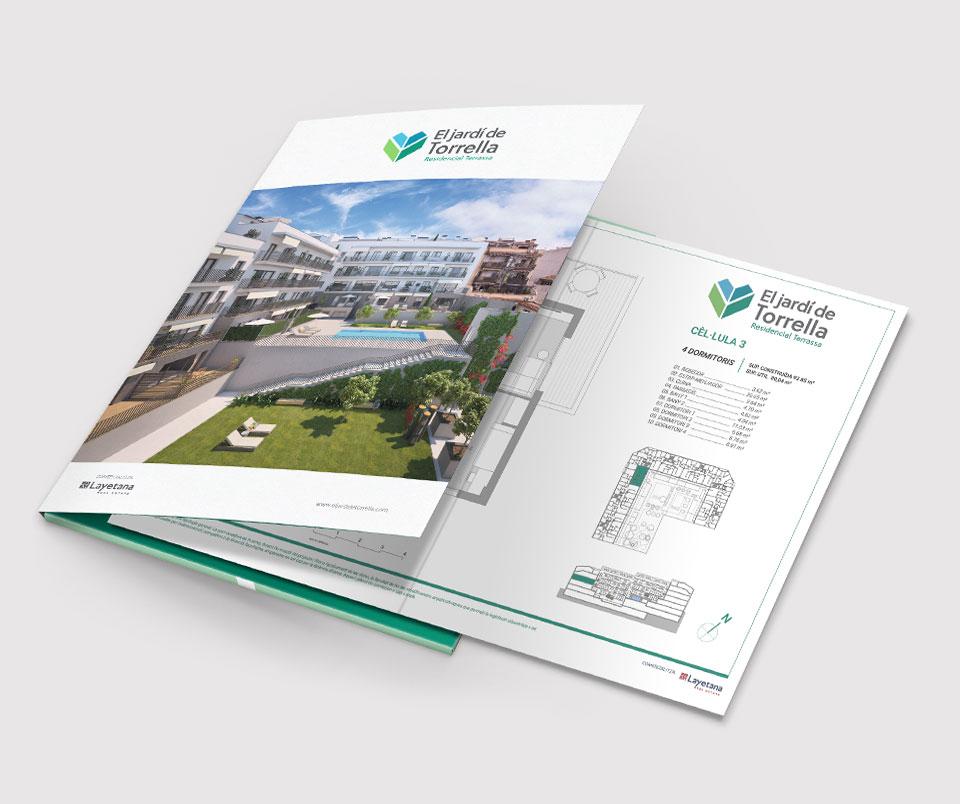 carpeta publicidad inmobiliaria - CAMPAÑA PUBLICITARIA INMOBILIARIA