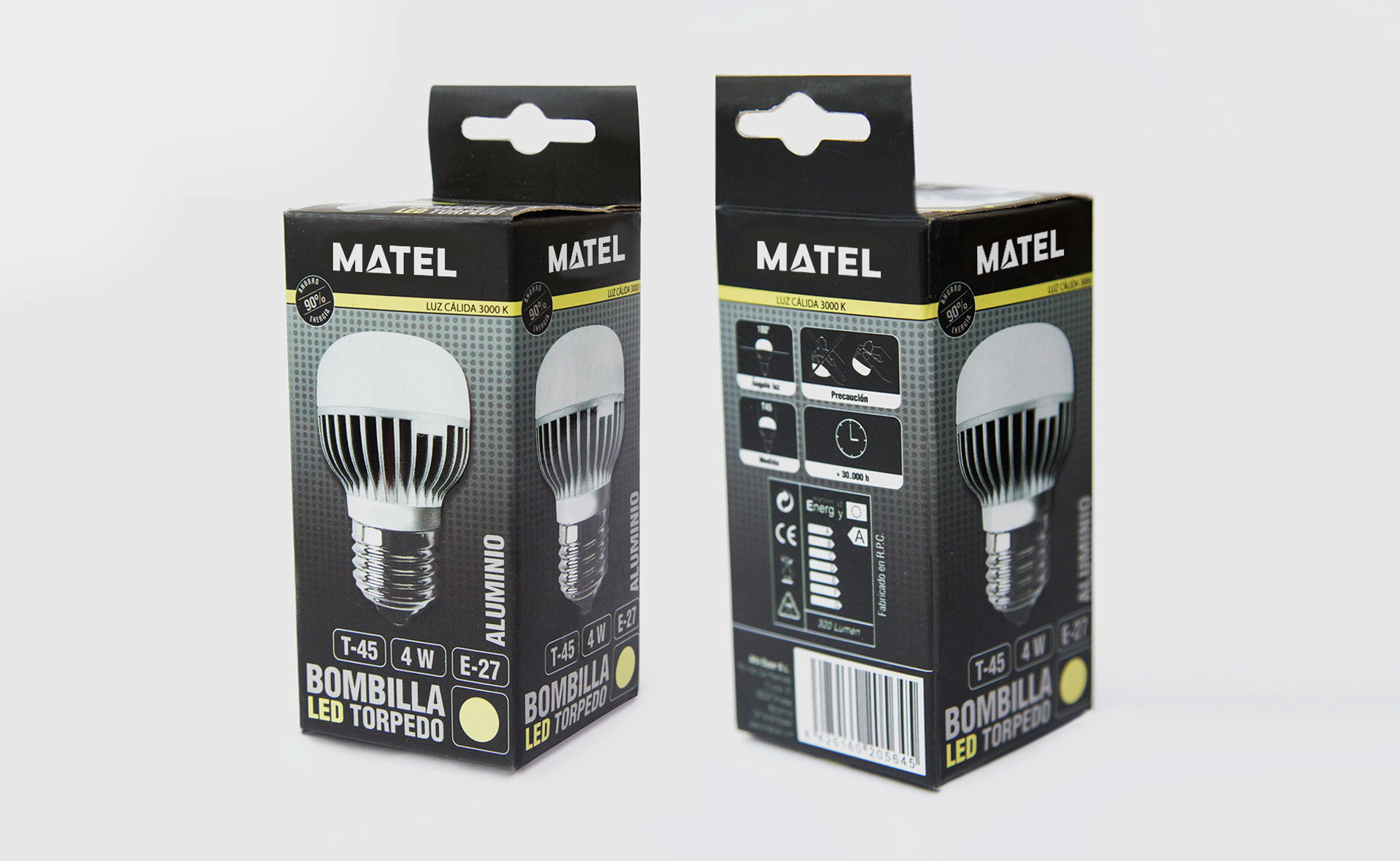 packaging bombillas 04 - REDISEÑO DE PACKAGING PARA ILUMINACIÓN